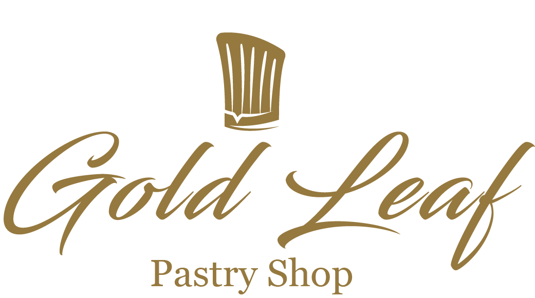 Gold Leaf Pastry Shop Cafe Logo